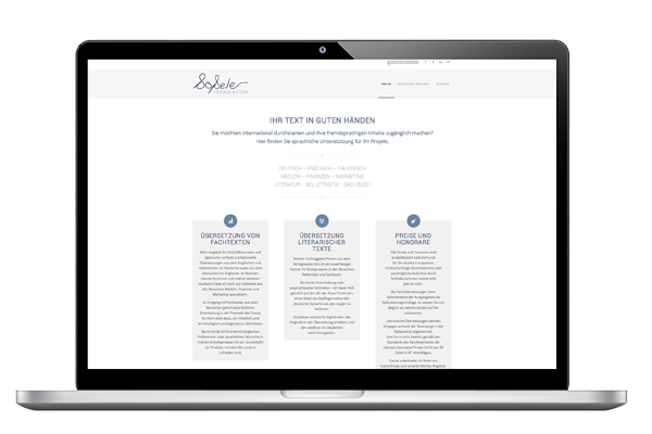Bosseler Translation - Web Projekt